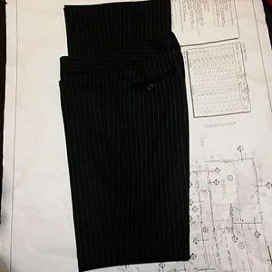 Theory wool blend tailored pinstripe pants size 4